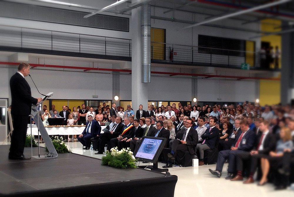 Am fost acolo unde viitorul prinde contur: la Bosch Innovation Day, Blaj. Schiţă conclusivă.